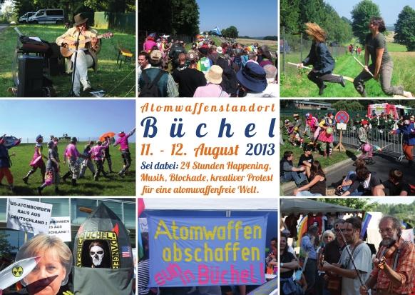 Postkarte Büchel 2013