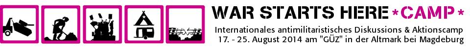 war starts here camp 2014