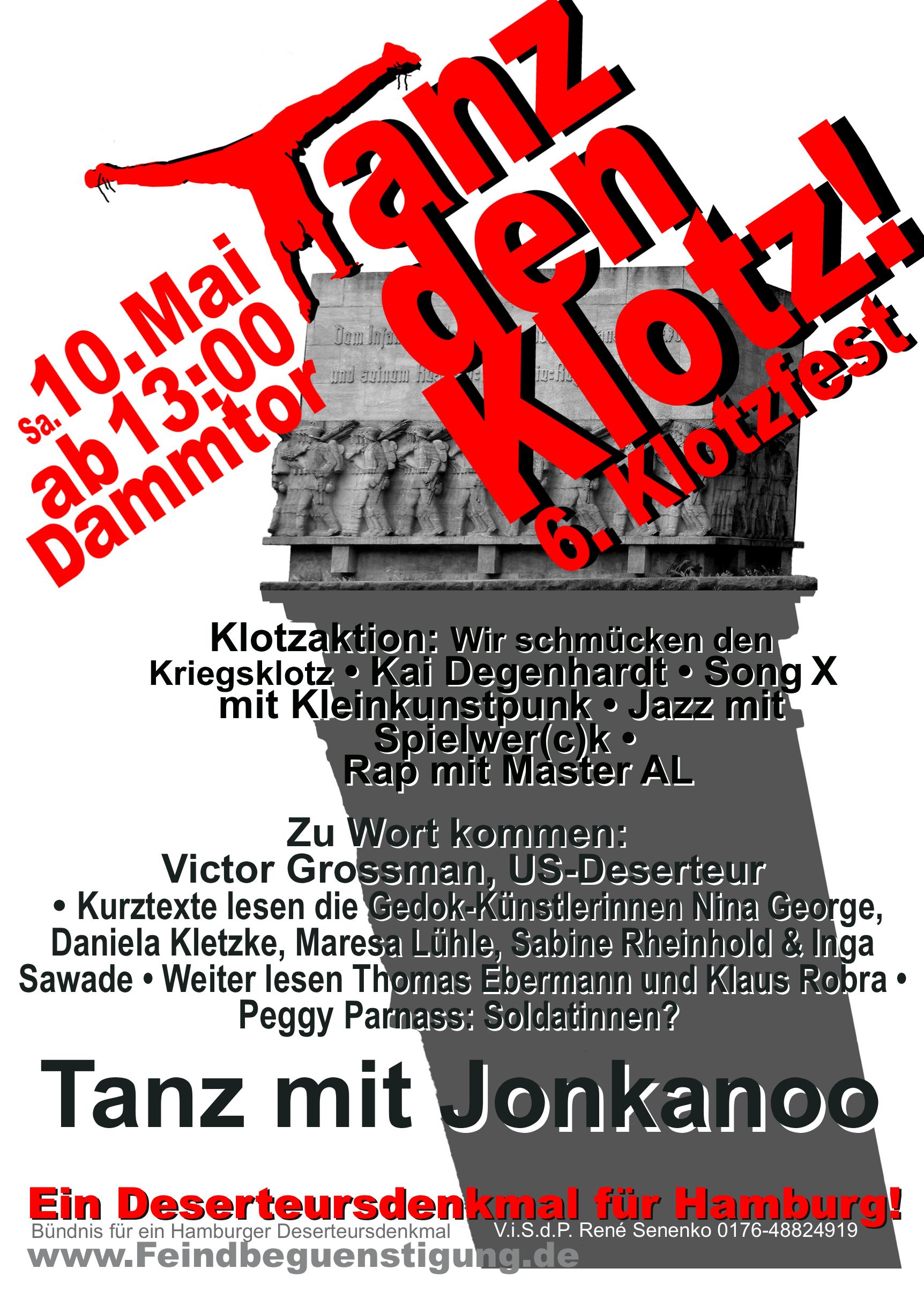 Plakat Klotzfest 2014